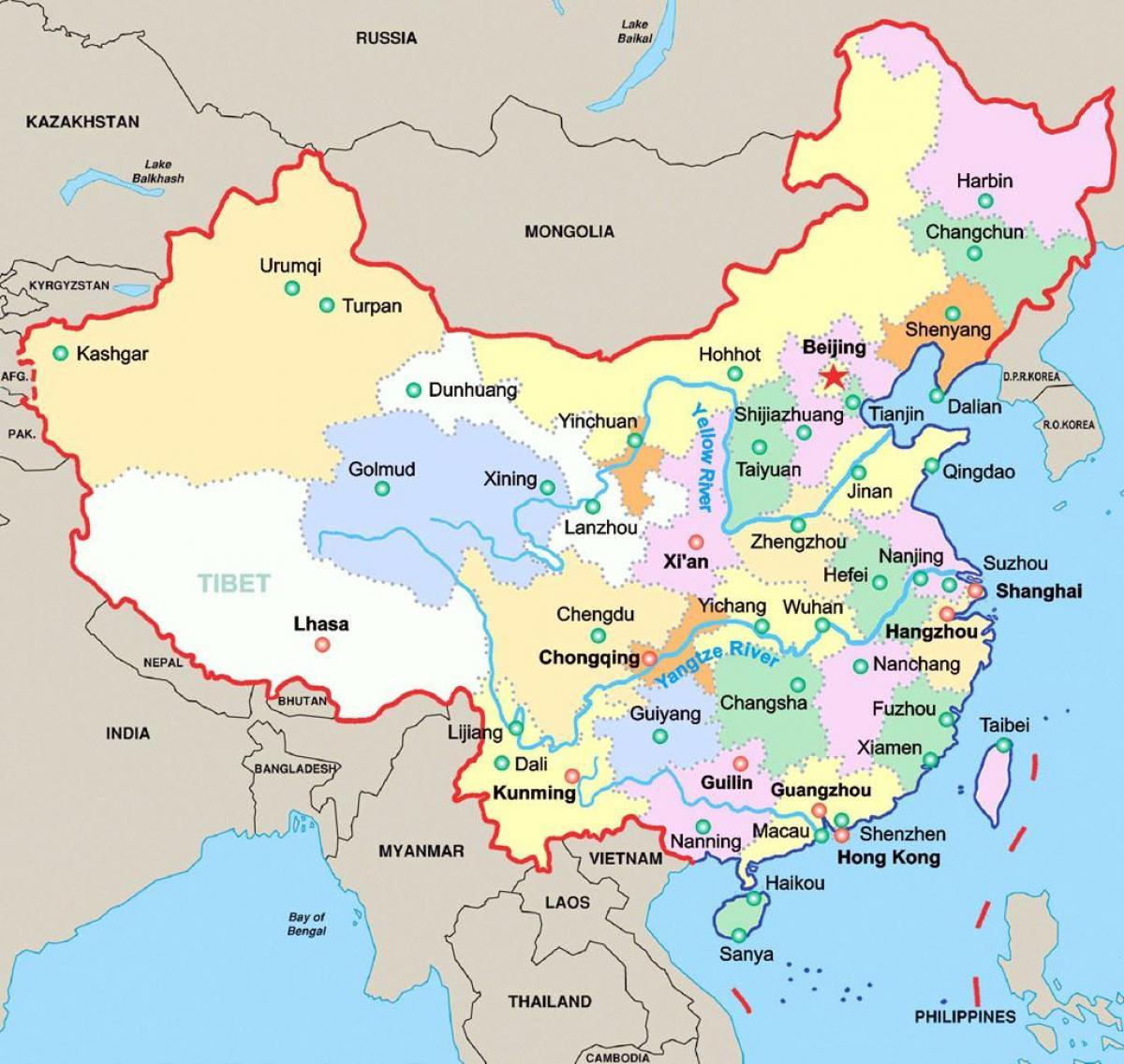 Kiinan Kartalla Kiinan Kartalla Ita Aasia Aasia